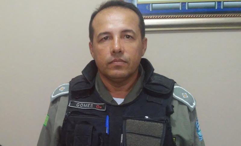 Resultado de imagem para Polícia Militar (GPM) de Santana do Piauí, tenente Gomes,